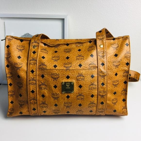 f654fe9f737 Auth MCM shoulder Bag Visetos Heritage Cognac. M_5c47c217de6f62d9dc855989